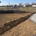 ukształtowanie terenu przygotowanie działki pod trawnik glebogryzarka separacyjna małopolska zielonki jak wykonać poprawnie trawnik nawadnianie wykopy liniowe